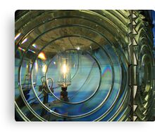 Cape Blanco Lighthouse Lens Canvas Print