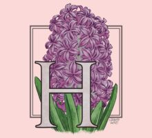 H is for Hyacinth Kids Tee