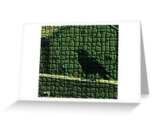 """The Forest Crow named """"Blink"""" Greeting Card"""