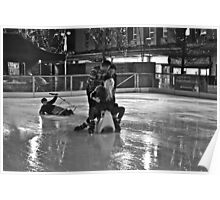 The Ice Rink - Plymouth in Winter 2 Poster