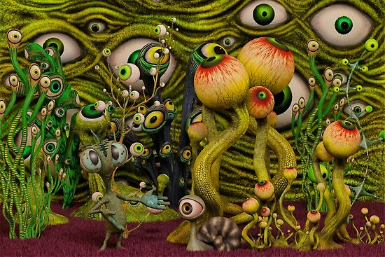 The Eyeball Garden by Liam Liberty