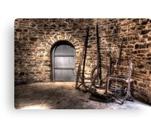 Inside the Old Grain Mill Nimmitabel Rural NSW  no2 Canvas Print