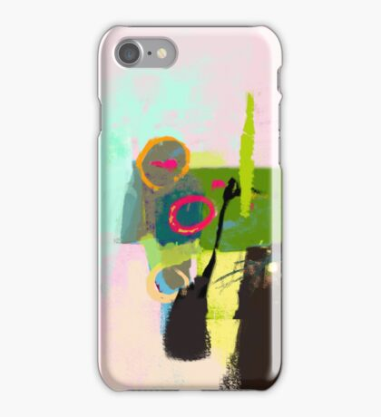 Abstract landscape - The inner landscape iPhone Case/Skin