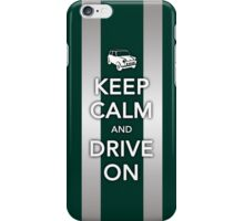 Mini Bonnet-British Racing Green iPhone Case/Skin
