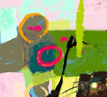 Abstract landscape - The inner landscape by CatchyLittleArt