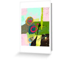Abstract landscape - The inner landscape Greeting Card