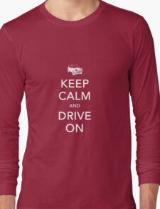 Mini-Keep Calm Long Sleeve T-Shirt