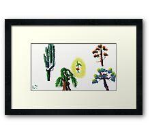 Tree Evolution 2 Framed Print