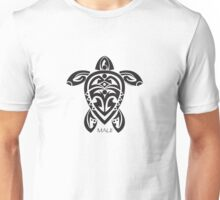 Black Tribal Turtle Tattoo / Maui Unisex T-Shirt