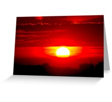 Sunny side down Greeting Card