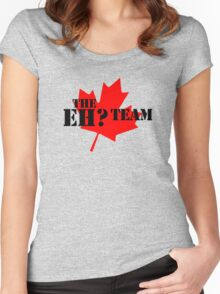 The eh? Team Women's Fitted Scoop T-Shirt