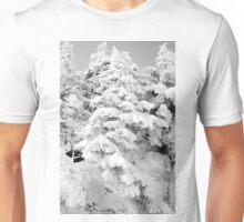 At The Top / B&W Unisex T-Shirt