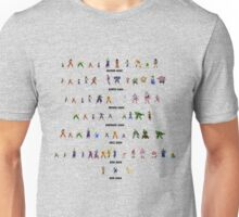 DBZ 16 bit sagas Unisex T-Shirt