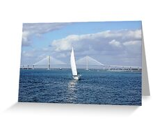 Charleston Harbor Greeting Card