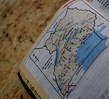 Uganda Map by The Street Child Project