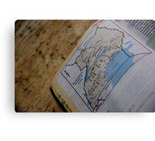 Uganda Map Metal Print