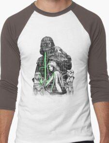 Skywalking Dead Men's Baseball ¾ T-Shirt