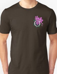 O is for Orchid - patch T-Shirt