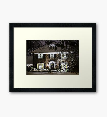 Coming Home For The Holidays Framed Print