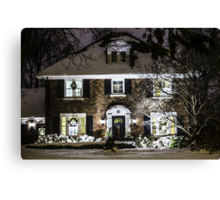 Coming Home For The Holidays Canvas Print