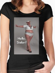 Hello Sailor Women's Fitted Scoop T-Shirt
