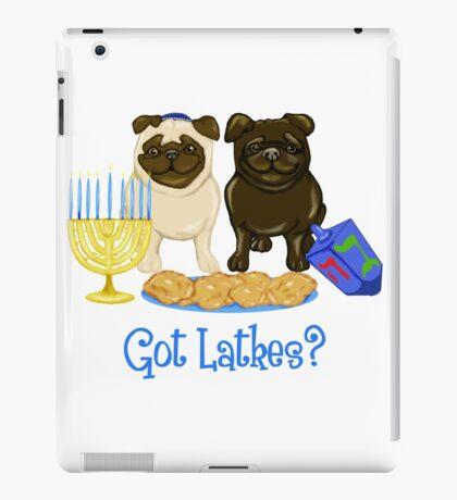 Got Latkes Hanukkah Pug iPad Case/Skin