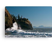 Cape Disappointment Lighthouse - Washington Coast Canvas Print