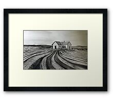 Tractored Out Inspired Framed Print