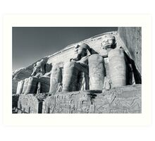 Abu Simbel - Monument to Ramses The Great Art Print