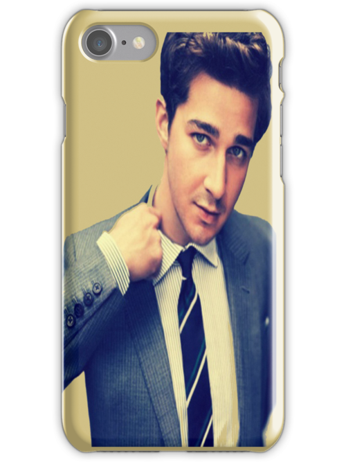 Shia Labeouf - Iphone Case  by sullat04