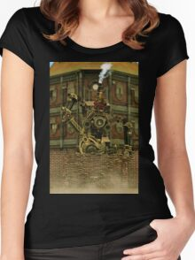 Steampunk Vandal Women's Fitted Scoop T-Shirt