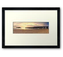 Coffs Harbour Jetty Framed Print