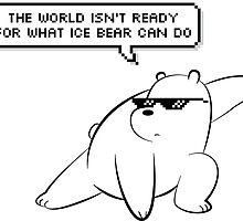 Ice Bear - We Bare Bears by tirmedesign