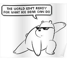Ice Bear - We Bare Bears Poster