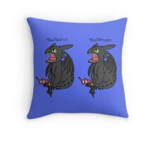 Toothless or more Throw Pillow