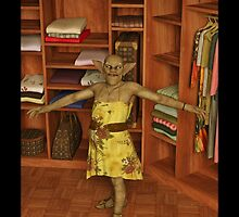 A Monster is in My Closet by Liam Liberty