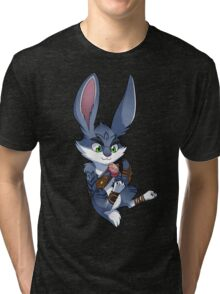 RoTG - Bunnymund Tri-blend T-Shirt