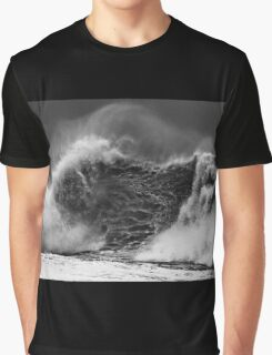 Wave With A Heavy Heart Graphic T-Shirt