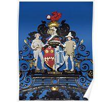 Colchester Castle Gates Poster
