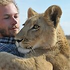 The orphan lion cub Kalahari Grasslands Predator Project by vawtjwphoto