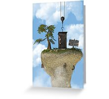 Outhouse - Out of Order Greeting Card