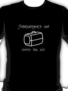 Schrödinger's Cat Carrier - T Shirt T-Shirt