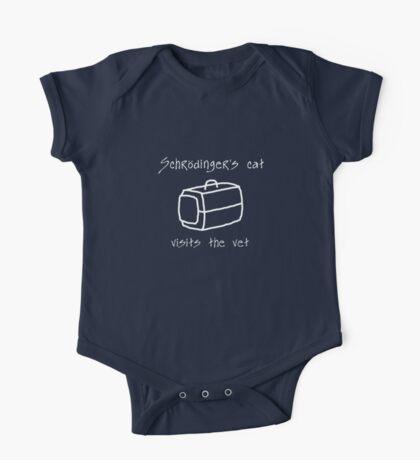 Schrödinger's Cat Carrier - T Shirt One Piece - Short Sleeve