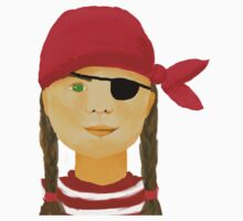 Little Pirate Girl Kids Clothes