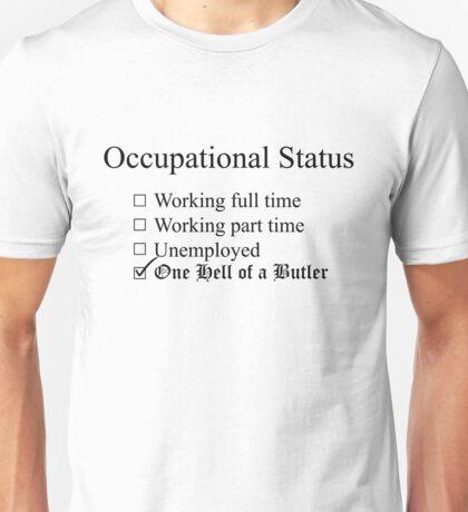 Occupation: Butler Unisex T-Shirt
