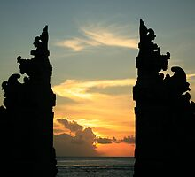 The Sunset Gates at Kuta Beach, Bali by klphotographics