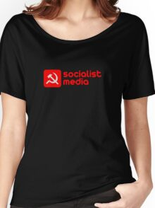 socialist media Women's Relaxed Fit T-Shirt
