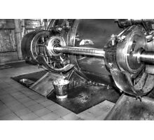 Steampump equipment Photographic Print