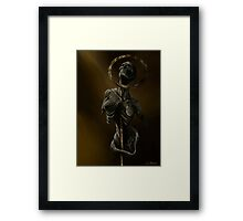Statuary Framed Print