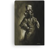 Dapper Cthulhu Canvas Print